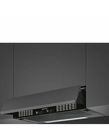 smeg kseir62ne2 cappa integrata 60 cm classe d, nero